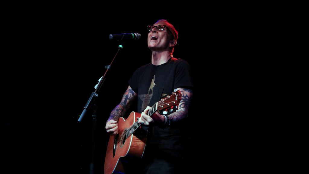 Singer songwriter Art Alexakis on stage in Dublin