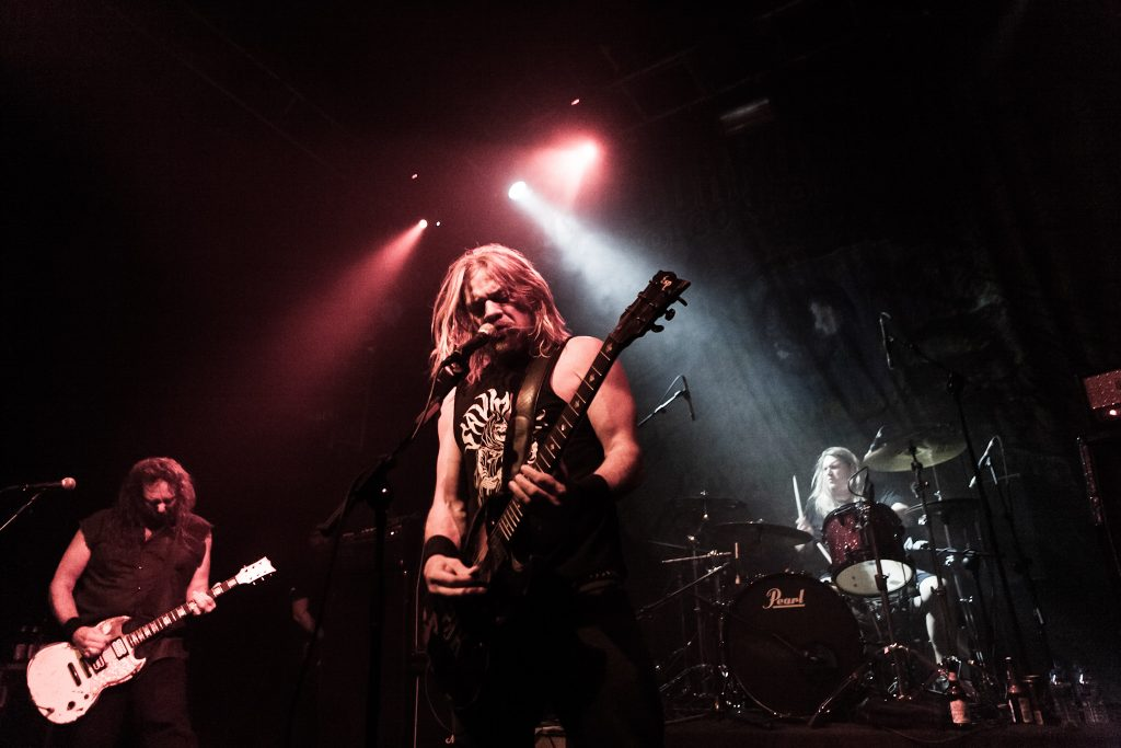 Corrosion of Conformity on stage Dublin 2016