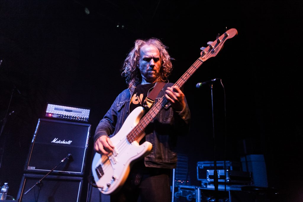 Mike Dean bassist with Corrosion of Conformity