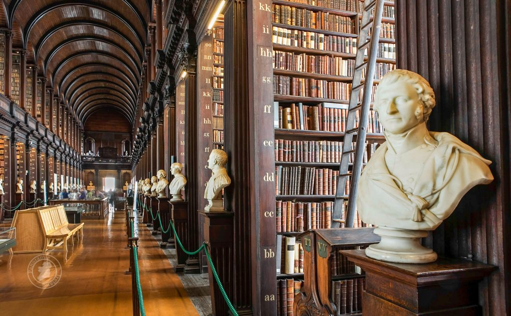 The Long Room Library in Trinity College Dublin