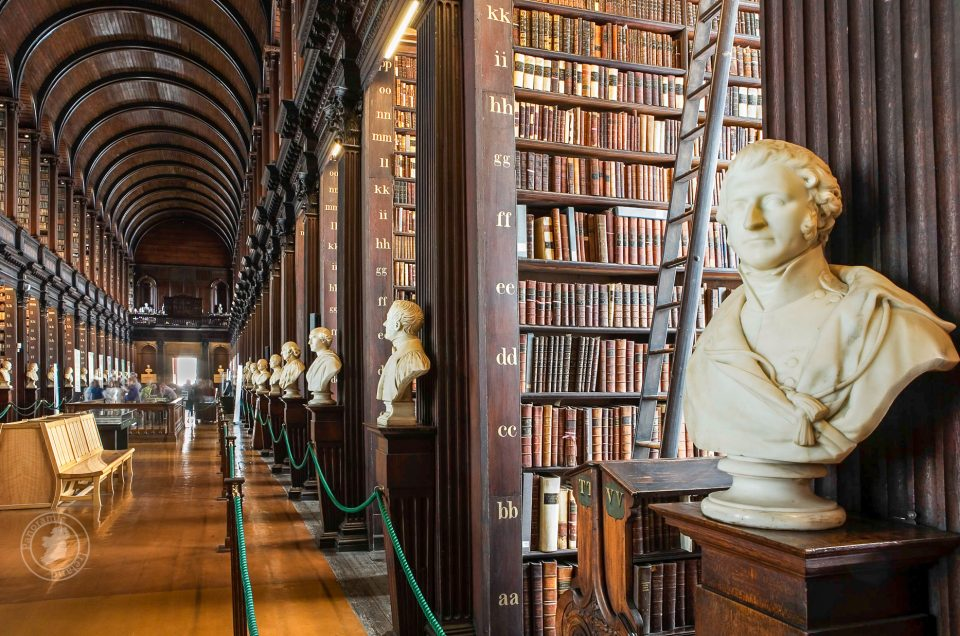 Trinity College Dublin, the Long Room Library
