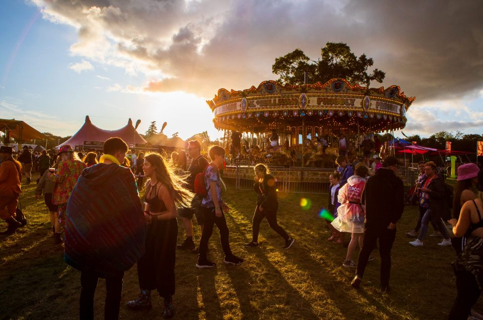 The Sun Sets on Another Electric Picnic